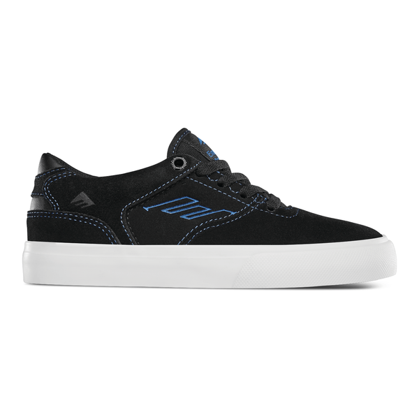 Black Kids The Low Vulc // Black/Blue Sneakers Emerica