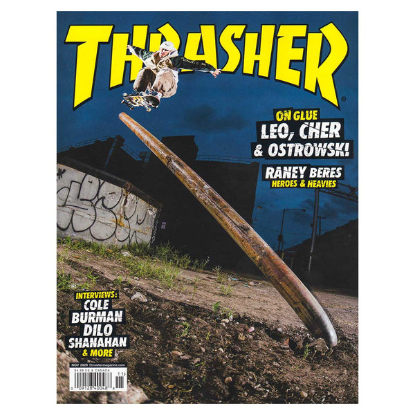 Dark Slate Gray Thrasher Mag //  November 2020 Livres Thrasher