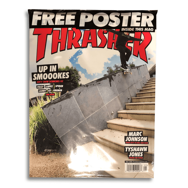 Rosy Brown Thrasher Magazines // May 2020 Livres Thrasher