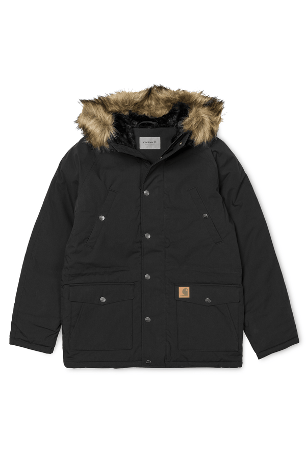 Trapper Parka // Black/Black