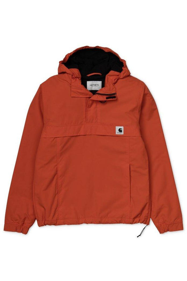 Brown W Nimbus Pullover // Brick Orange Vestes Carhartt WIP