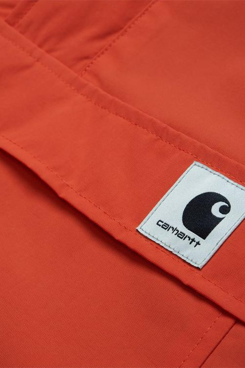 Dark Red W Nimbus Pullover // Brick Orange Vestes Carhartt WIP