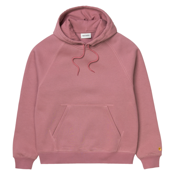 Sweat à capuche - Carhartt WIP - W' Hooded Chase Sweat // Malaga/Gold - Stoemp