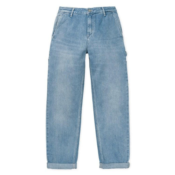 W' Pierce Pant // Blue Light // Stone Washed