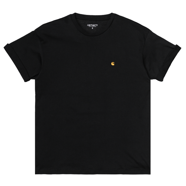 W' SS Chase T-Shirt // Black/Gold