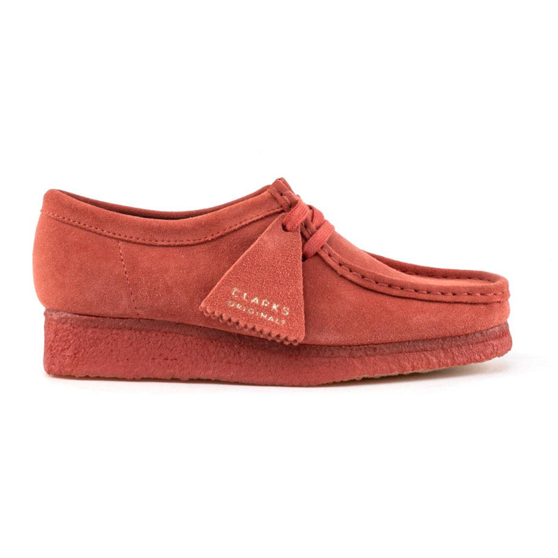 Sneakers - Clarks - Wallabee // Dark Blush Suede - Stoemp