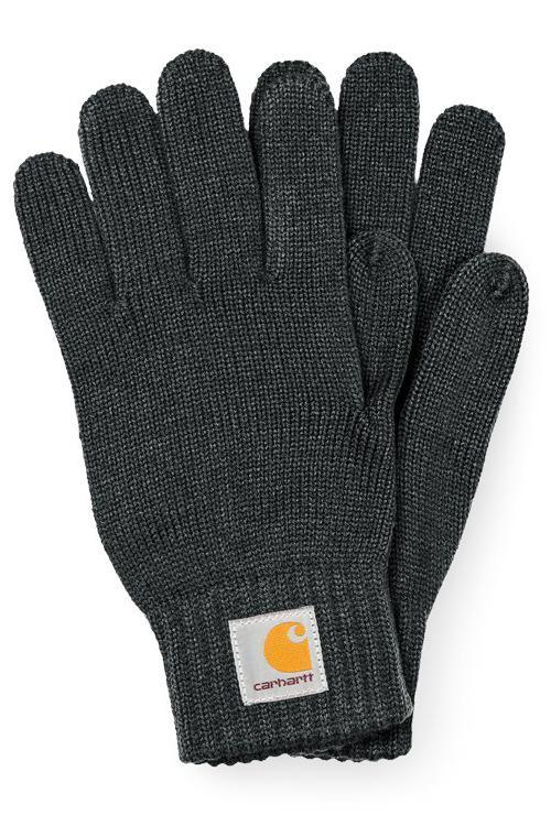 Dark Slate Gray Watch Gloves // Blacksmith Gants Carhartt WIP