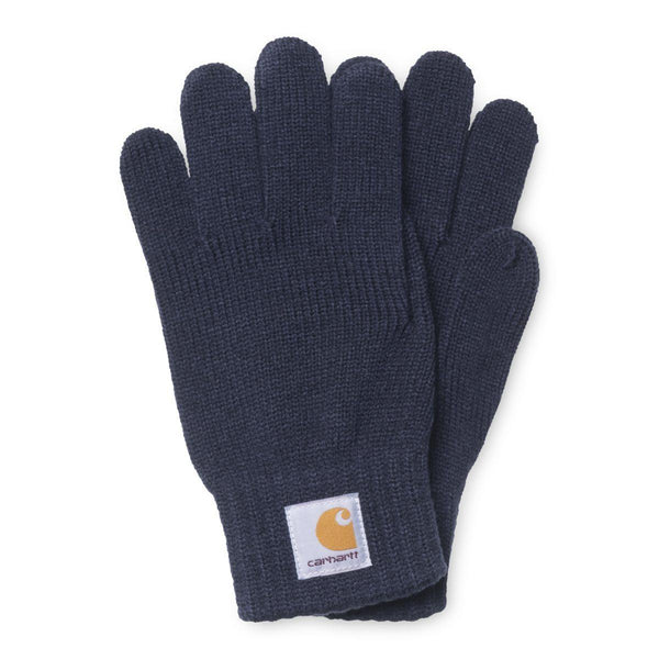Dark Slate Gray Watch Gloves // Dark Navy Gants Carhartt WIP