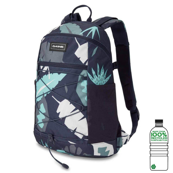 Dark Slate Gray Wonder Pack // 18L // Abstract Palm Sacs Dakine