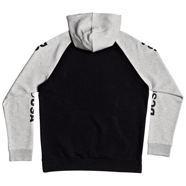 Sweats à capuche - Dc shoes - Star Pilot PH Boy B OTLR // Black/Grey Heather (xkks) - Stoemp