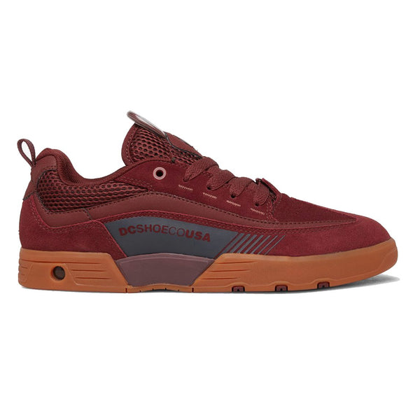 Saddle Brown Legacy 98 Slim // Maroon Sneakers Dc shoes