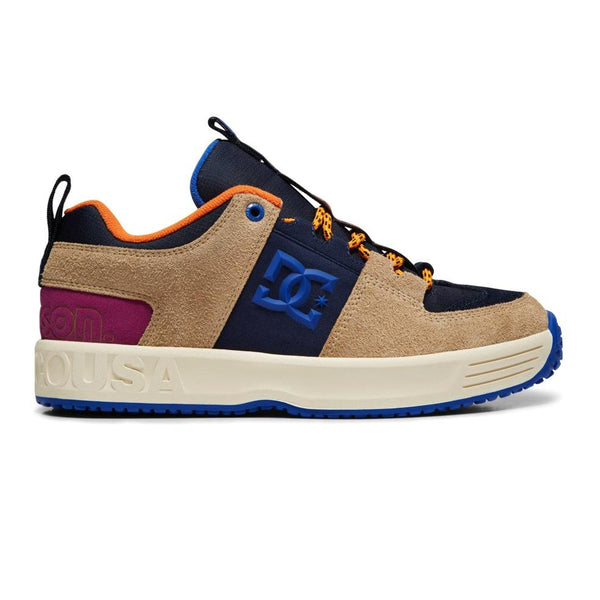 Rosy Brown Lynx X Paterson // Tan/Brown Sneakers Dc shoes