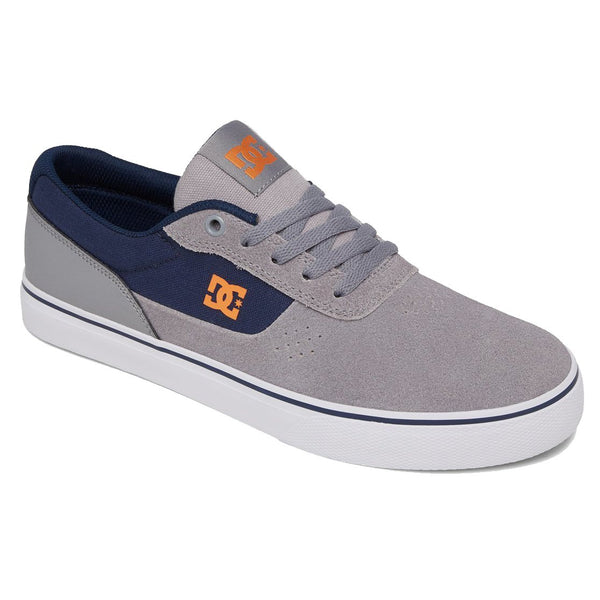 Dark Gray Switch // Grey/Orange/Grey Sneakers Dc shoes