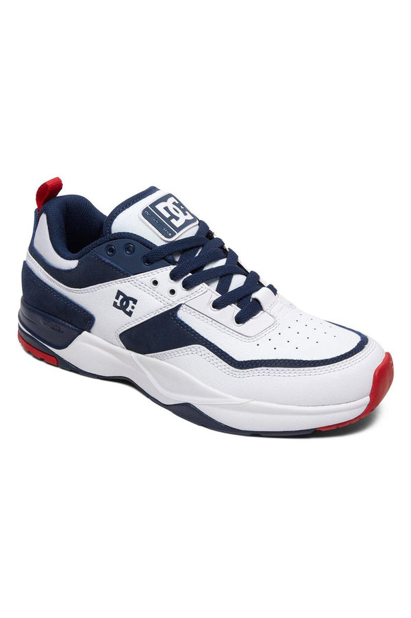 Dark Slate Gray E. Tribeka // White/Red/Blue Sneakers Dc shoes