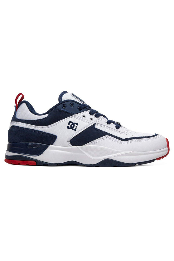 Lavender E. Tribeka // White/Red/Blue Sneakers Dc shoes