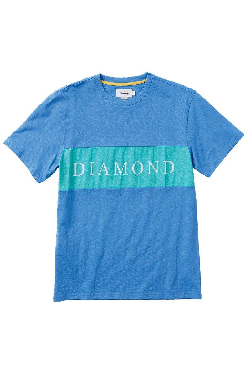 Steel Blue Elliot Tee // Blue T-shirts Diamond