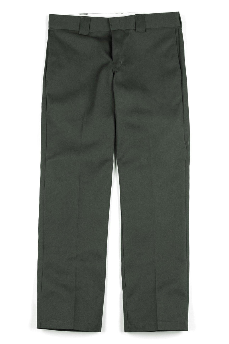 Straight Work Pant // 873 // Olive Green