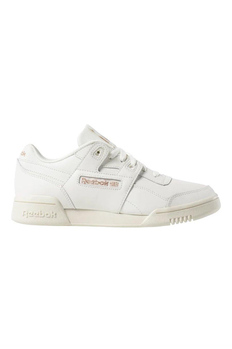 Light Gray Workout Lo Plus // Sea Spray/White // DV3776 Sneakers Reebok