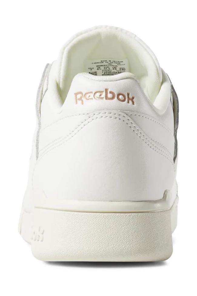 Beige Workout Lo Plus // Sea Spray/White // DV3776 Sneakers Reebok