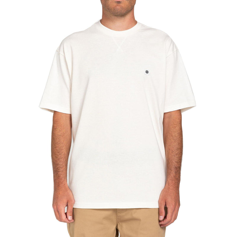 T-shirts - Element - Forces SS Tee // Off White - Stoemp