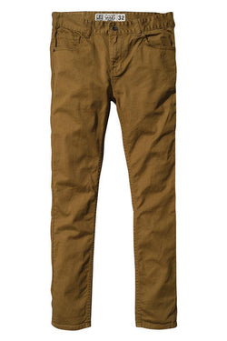 Saddle Brown Goodstock Jeans // Camel Pantalons Globe