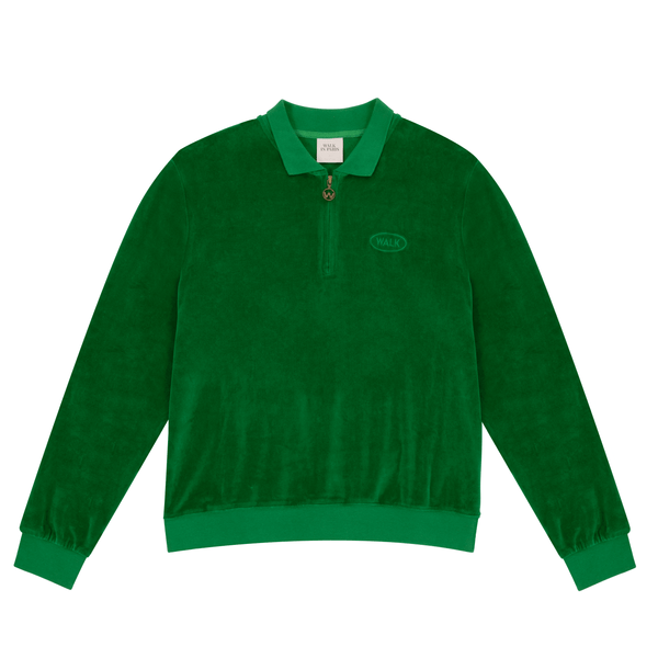 Polos - Walk In Paris - Velvet Polo // Forest Green - Stoemp