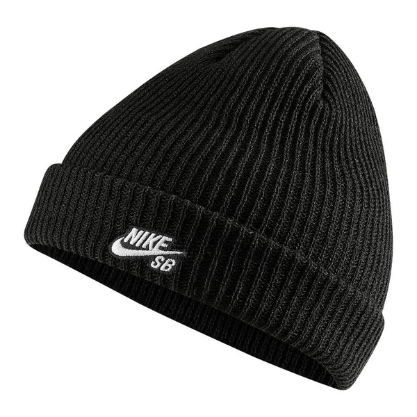 Bonnets - Nike SB - Fisherman Beanie // Black/White - Stoemp