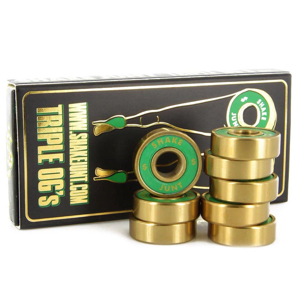 Medium Sea Green Shake Junt Bearings // Abec 7 Roulements Shake Junt
