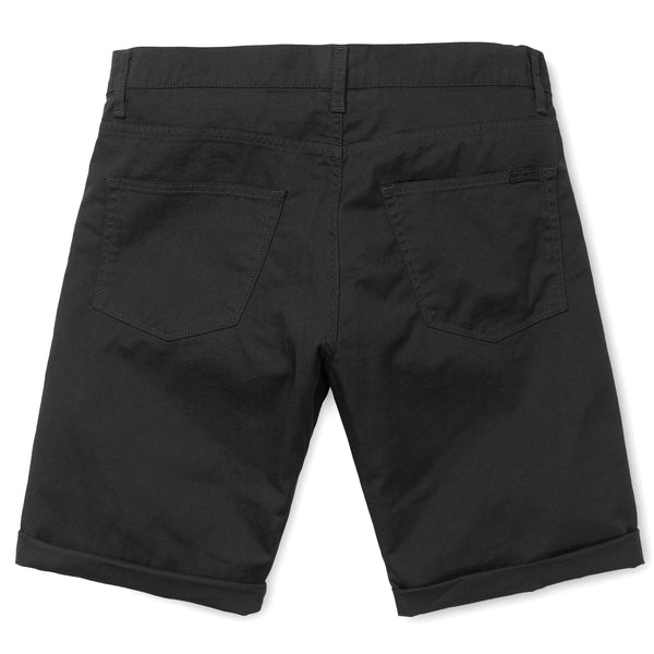 Dark Slate Gray Swell Short // Black Rinsed Shorts Carhartt WIP