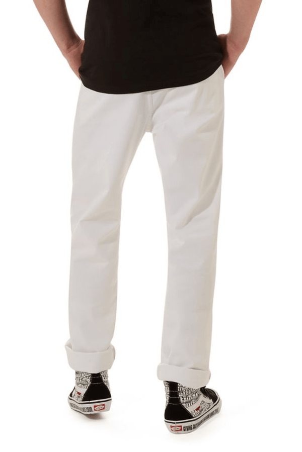 Authentic Chino Pro // Baker // White