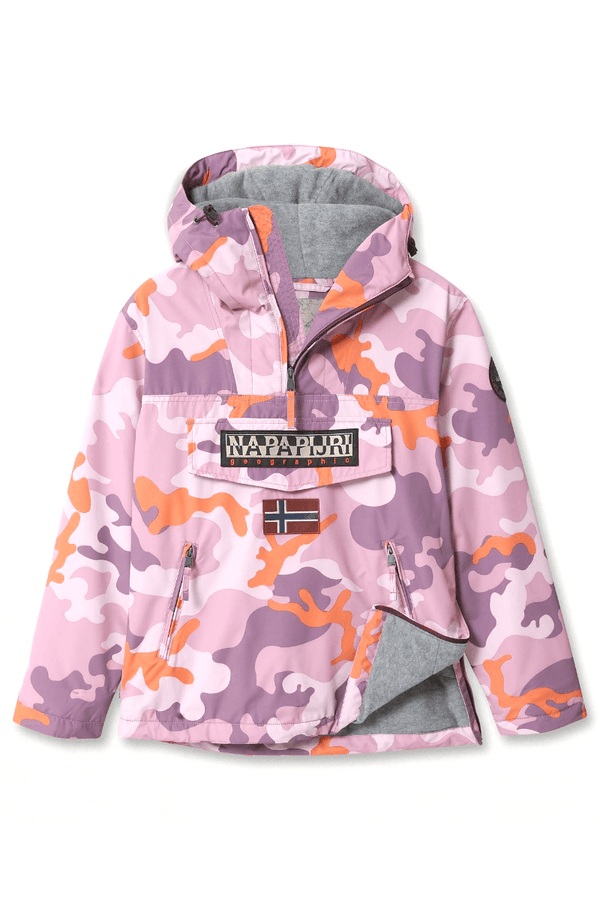 Thistle Rainforest W Winter // Pink Camo Vestes Napapijri