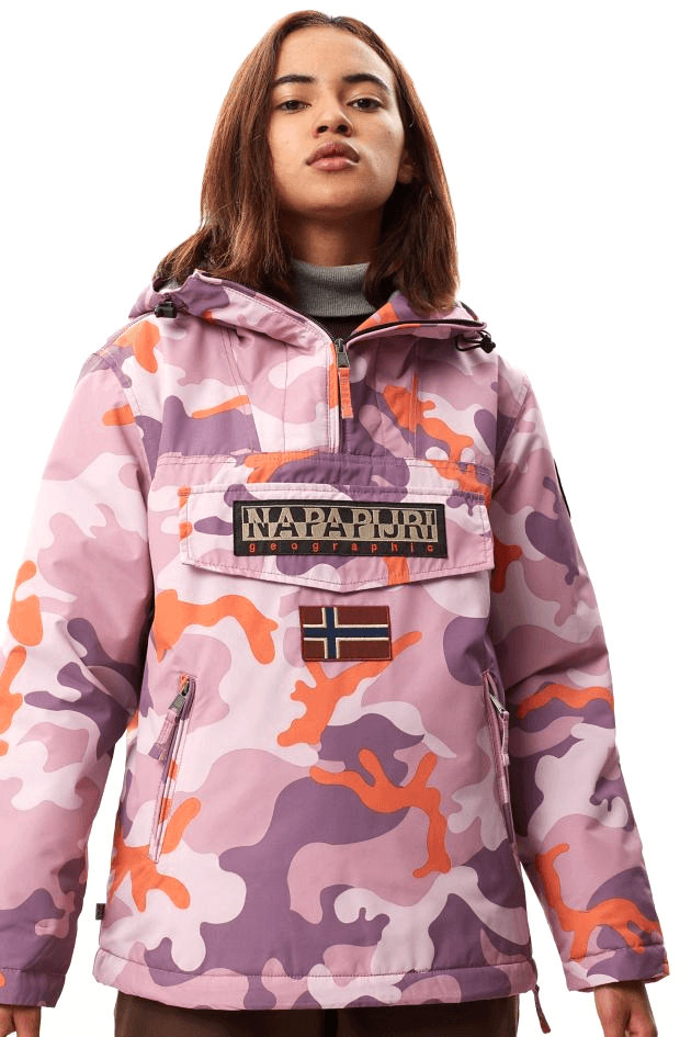 Snow Rainforest W Winter // Pink Camo Vestes Napapijri