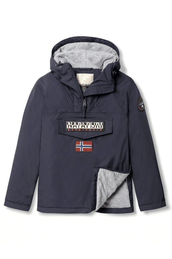 Dark Slate Gray Rainforest W Winter 3 // Blue Marine Vestes Napapijri