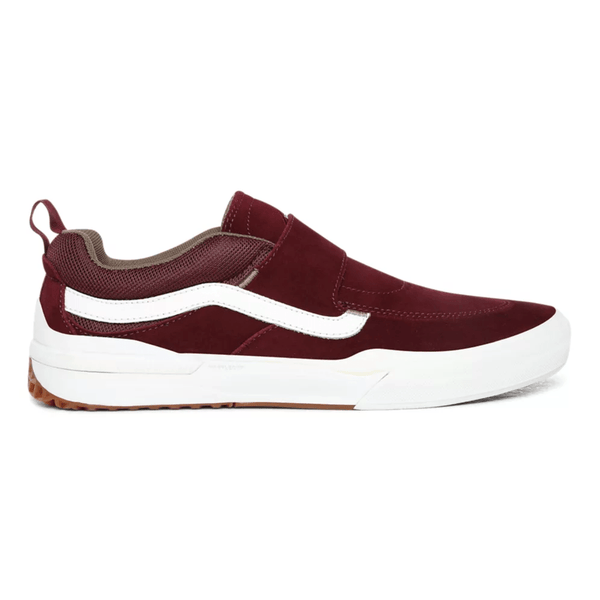 Dark Red Kyle Pro 2 // Port/Walnut Sneakers Vans