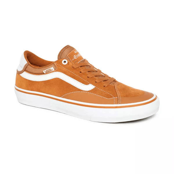 Chocolate TNT Advanced Prototype // Pumpkin/White Sneakers Vans