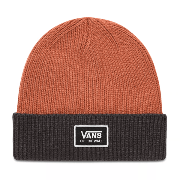 Chocolate Falcon Beanie // Rose Down Bonnets Vans