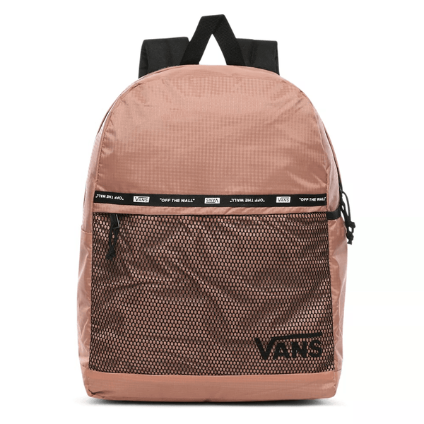 White Pep Squad II Backpack // 23L // Rose Dawn Sacs Vans