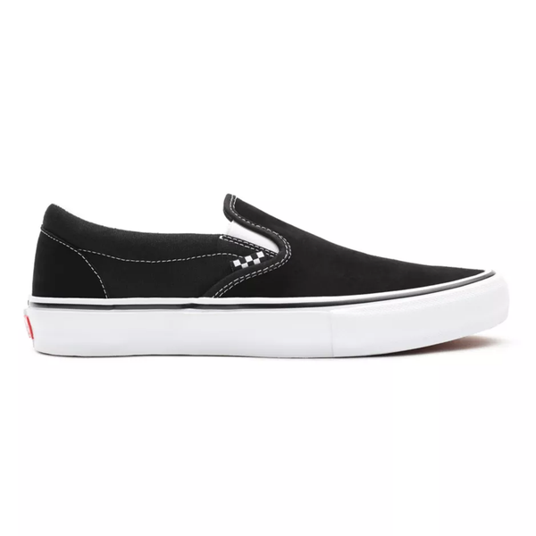 Skate Slip-On // Black/White