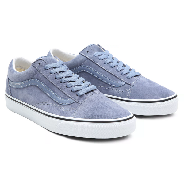 Old School // Pig Suede/Tempest Blue/True White