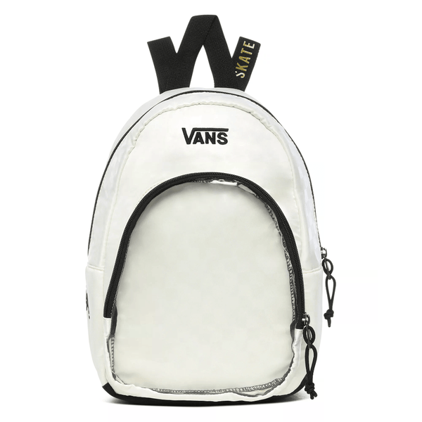 Beige Heart Lizzie Bag // White Sacs Vans