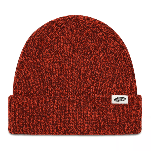 Brown WM Twilly Beanie // Paprika/Port Royale Bonnets Vans