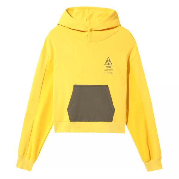 Gold WM 66 Supply Hoodie // Lemon Chrome Sweats à capuche Vans