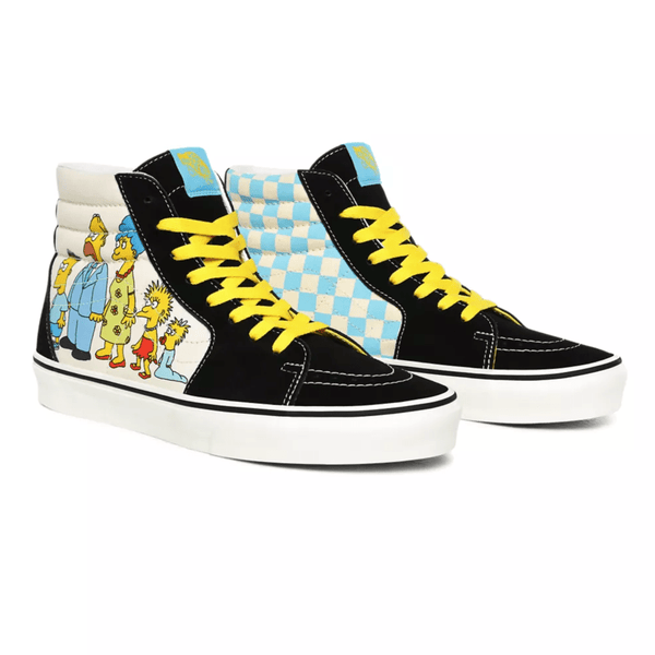 Yellow Sk8-Hi (The Simpsons) // 1987-2020 Sneakers Vans