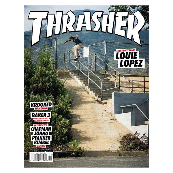 Tan Thrasher Magazine Octobre 2020 Livres Thrasher