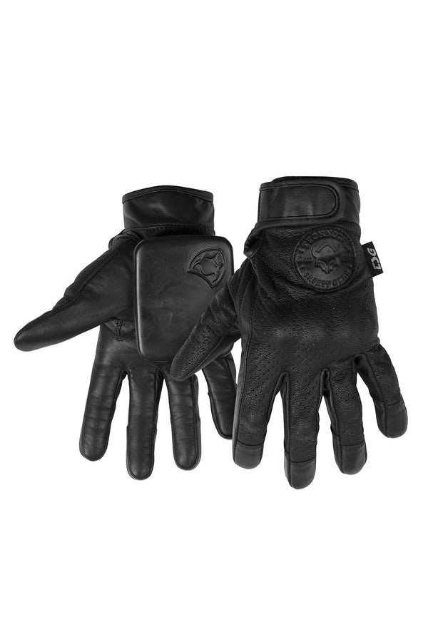 Dark Slate Gray Cuesta DH Gloves // Black Protections TSG