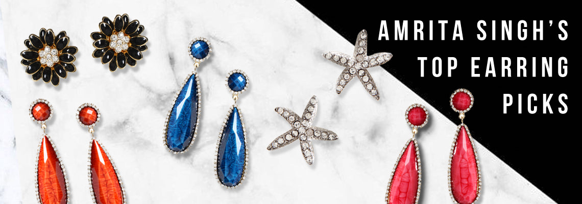Amrita Singh's Top Earring Picks