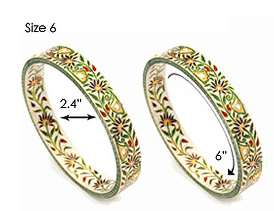 Bangle Size Chart Amrita Singh Jewelry Amrita Singh Jewelry And