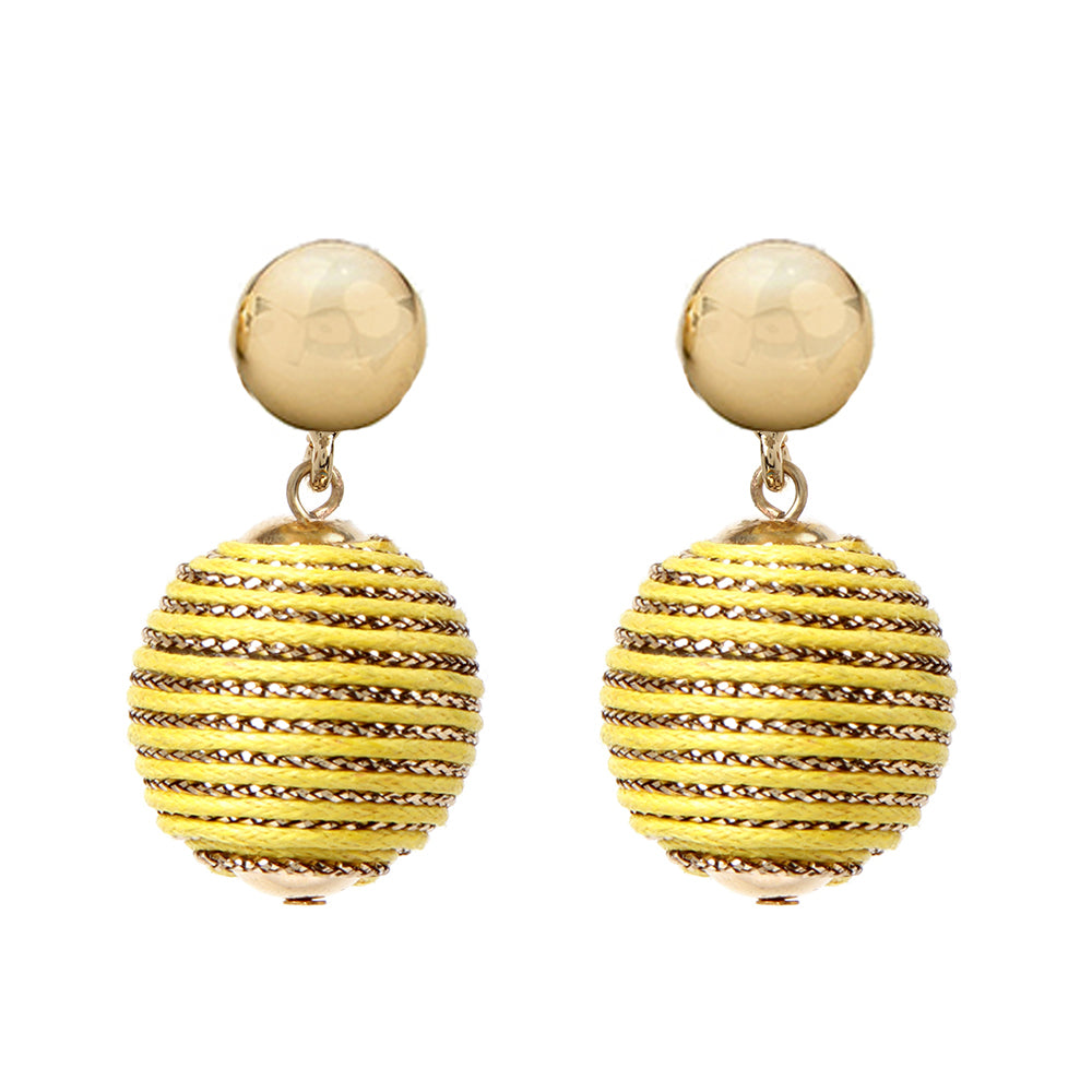 Yellow Earring