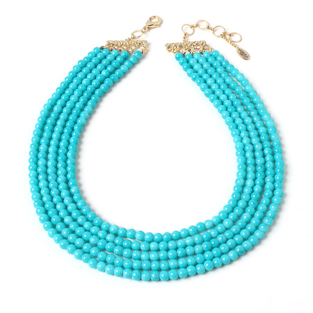 Amalfi Turq Necklace