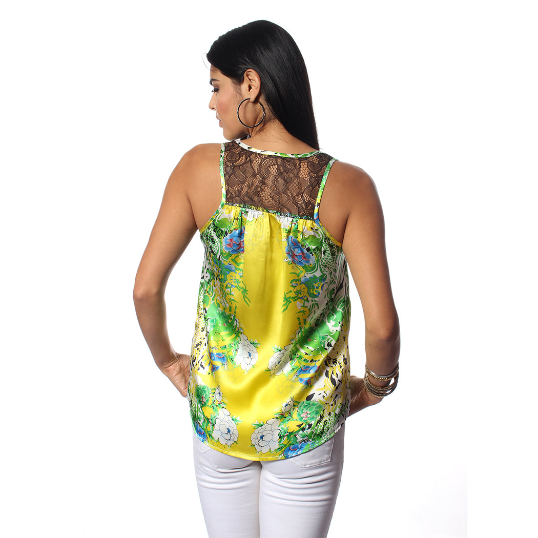 Yellow Tiger Lily Tops